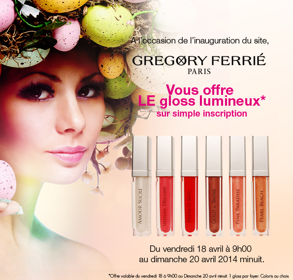Lancement du site Gregory Ferrie Paris 2