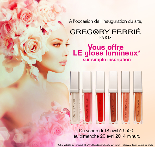 Lancement du site Gregory Ferrie Paris 3