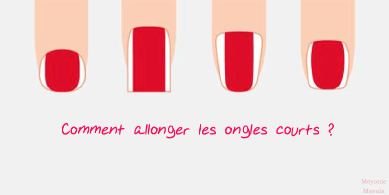 ongles courts tendance meyonie,5