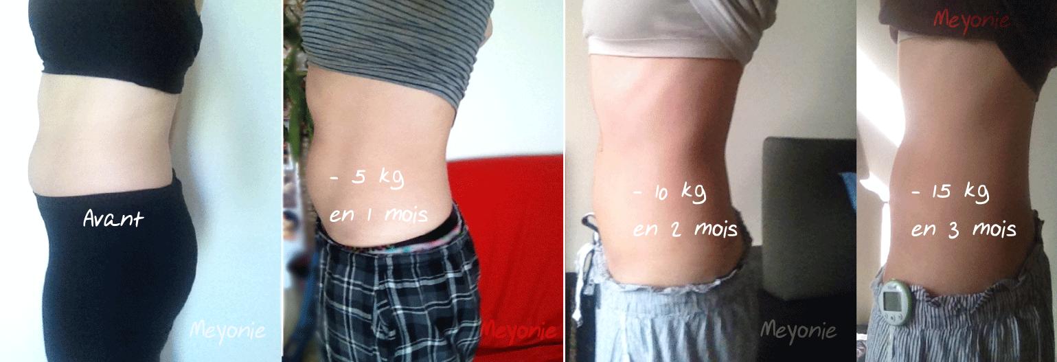 3 mois pour perdre du poids