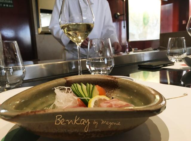 benkay-restaurant-japonais-meyonie-chef-entrée-sashimi