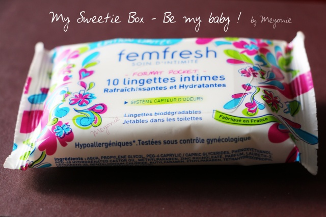 my-sweetie-box-meyonie-Be-My-Baby-femfresh-