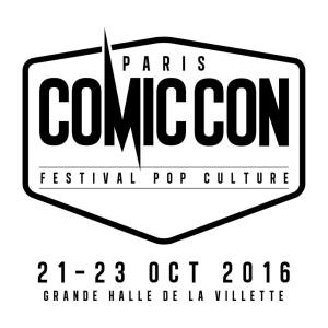 logo comic con paris festival pop culture meyonie