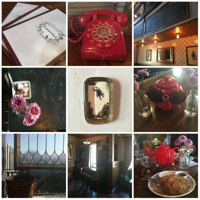 meyonie cardinal Montreal salon de thé