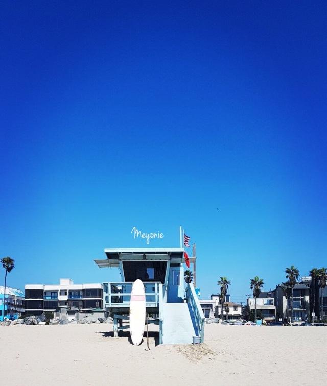 Meyonie californie venice beach