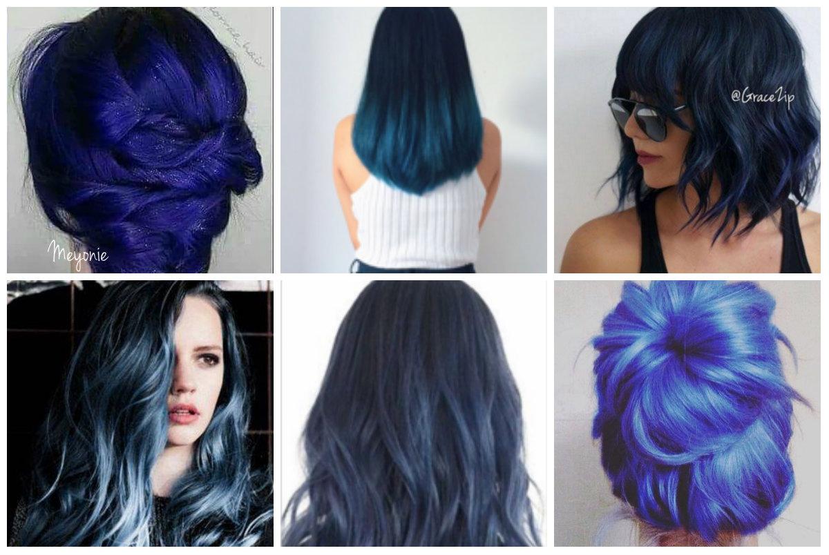 Pourquoi rГЄver la teinture des cheveux en bleu